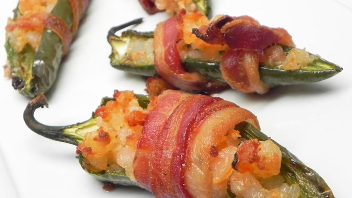Lobster Bacon Jalapeno Poppers