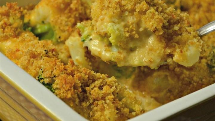 Broccoli and Cauliflower Gratin Recipe - Allrecipes.com