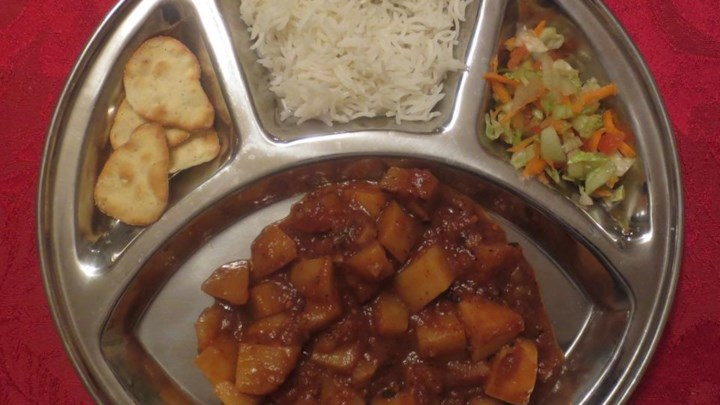 Geeta Auntie's Potato (and Vegetable) Bhaji