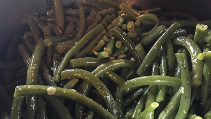 Buttery Garlic Green Beans