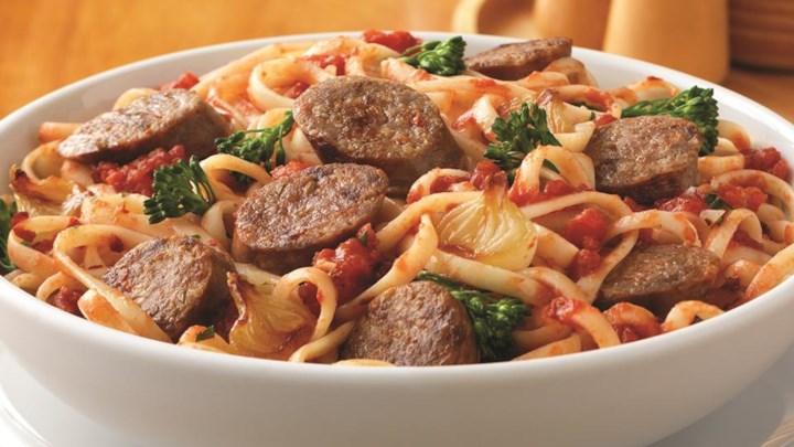 Zesty Italian Sausage Pasta Recipe - Allrecipes.com