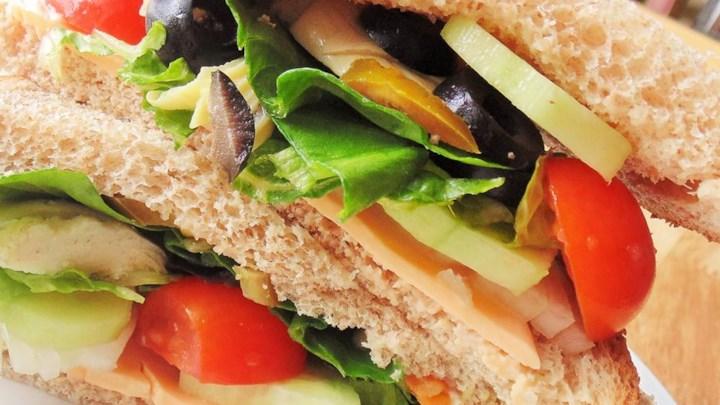 Spicy Veggie Sandwich