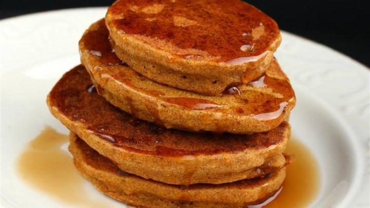 Gluten-Free Heart-Friendly Carrot Pancakes