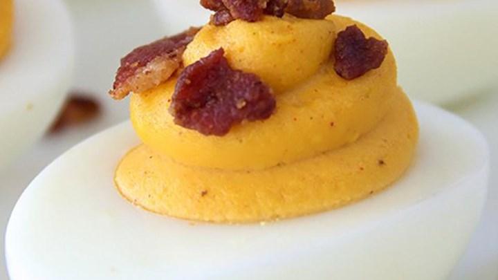 Smoky Deviled Eggs Recipe - Allrecipes.com