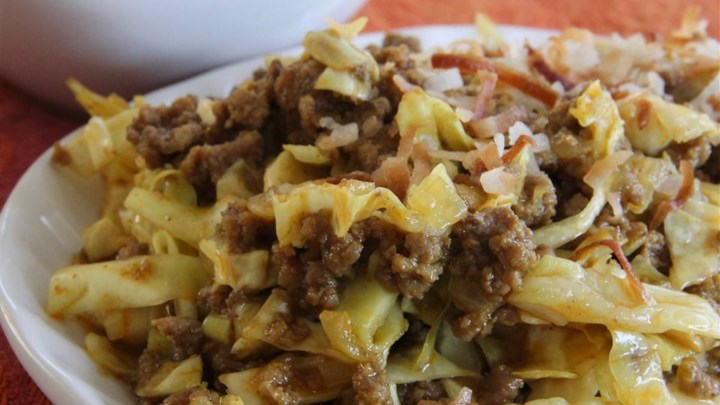 Indonesian Curried Cabbage