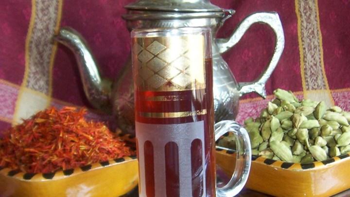 Kuwaiti Traditional Tea