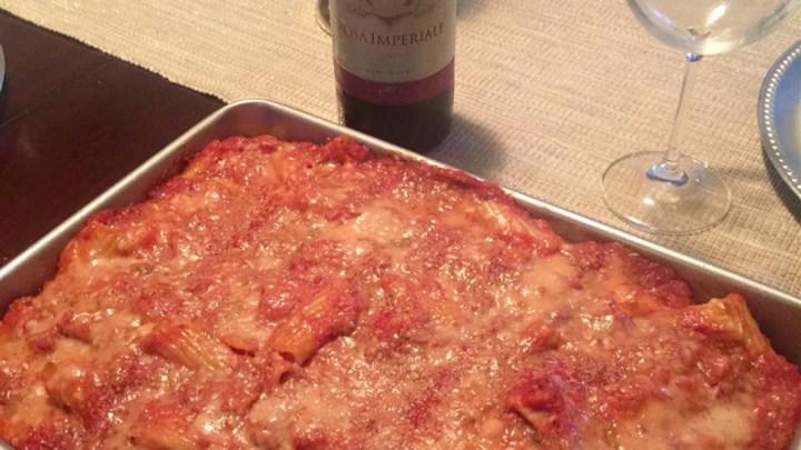 Rigatoni with Italian Chicken
