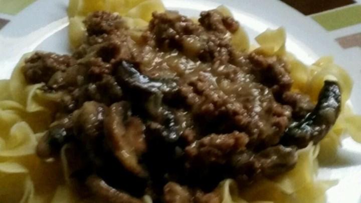 Mitzie's Beef Stroganoff