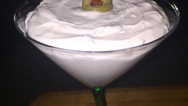 Dirty Martini Cheese Spread