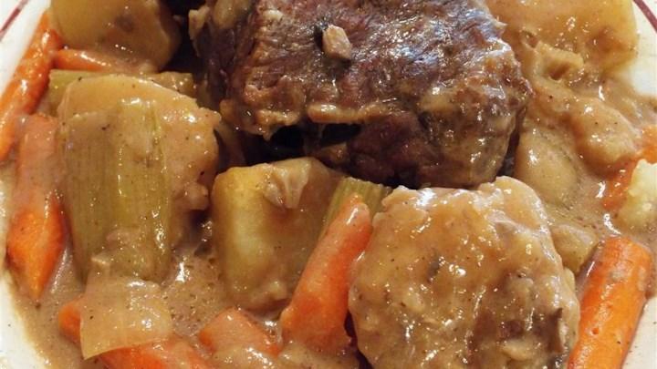 Awesome Slow Cooker Pot Roast Plus Extras Recipe - Allrecipes.com