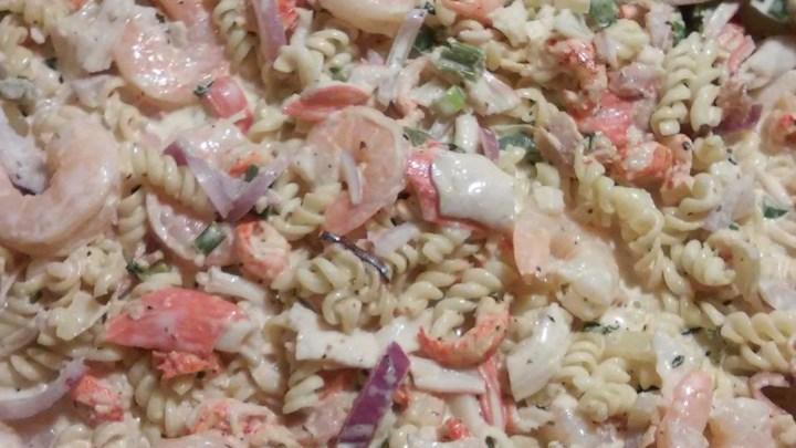 Shrimp and Tasso Pasta