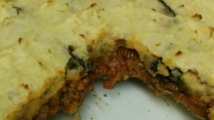 Moussaka Cottage Pie