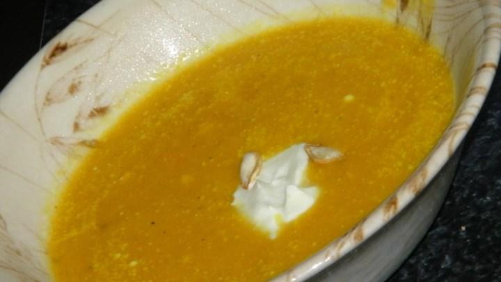 Easy Gourmet Pumpkin Soup