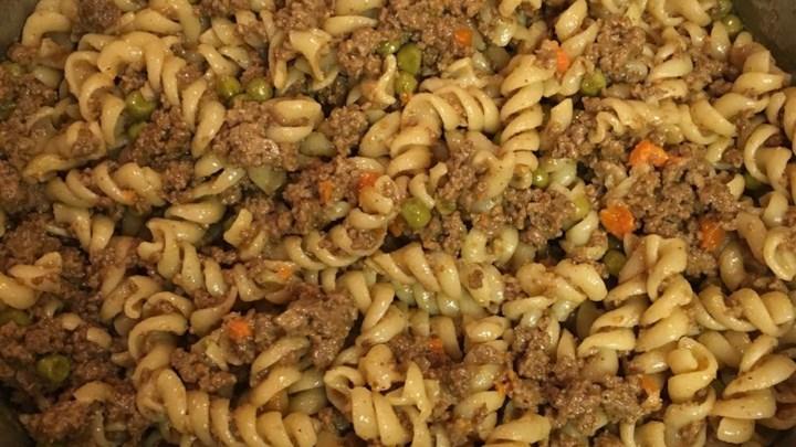 Garlic Mustard Ground Beef