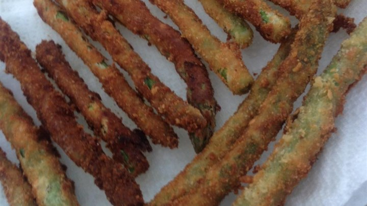 Kim's Fried Asparagus