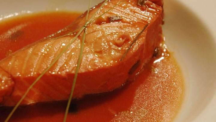 Lemongrass and Citrus Poached Salmon