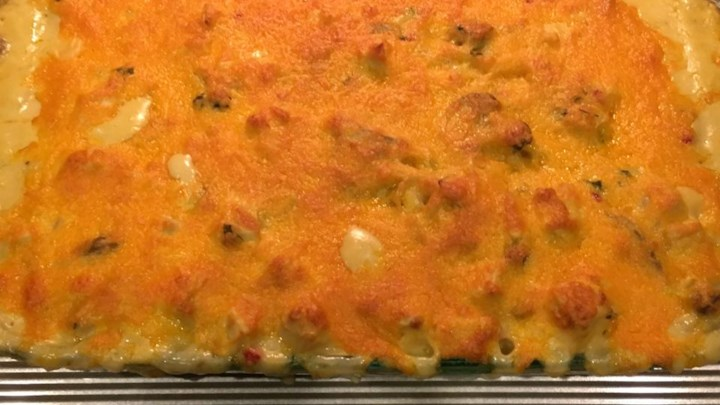 Easy Chicken Tetrazzini for a Large Family