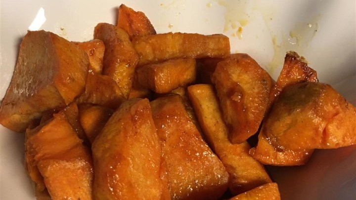 Cinnamon Sweet Potato Slices
