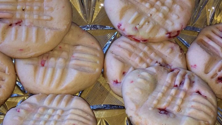Venice High School Cherry Butter Cookies