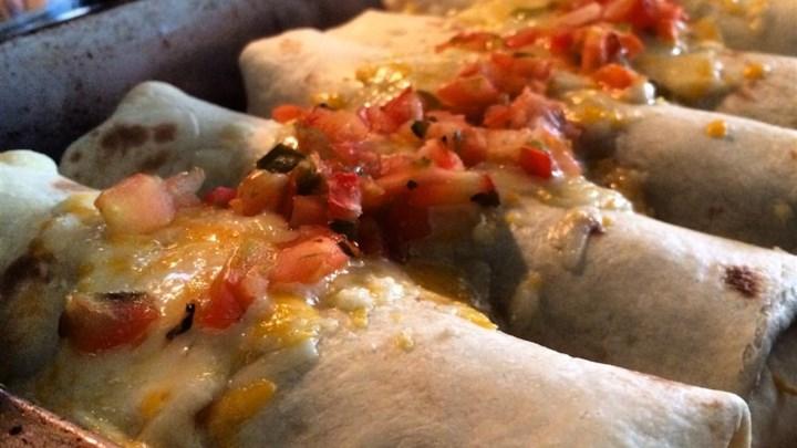 Fiesta Chicken Enchiladas
