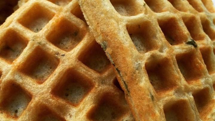Savory Herb Waffles