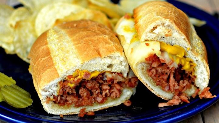 Hot pa-SPAM®-mi Sandwich