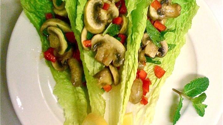 Roasted Mushroom Salad