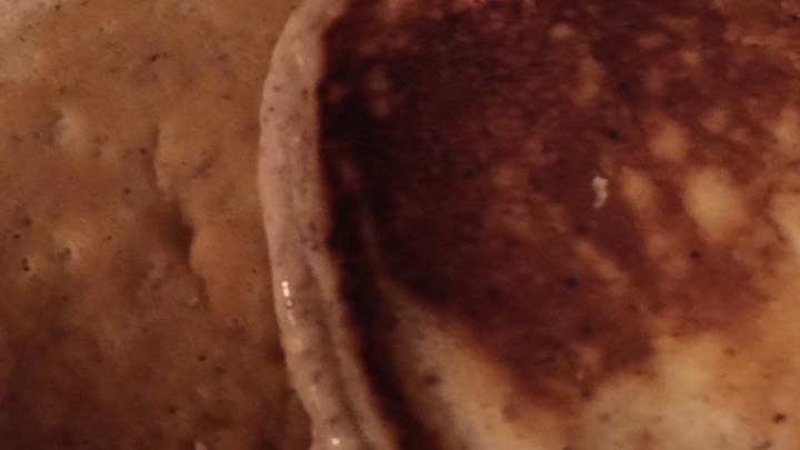 Soymilk Flaxseed Pancakes