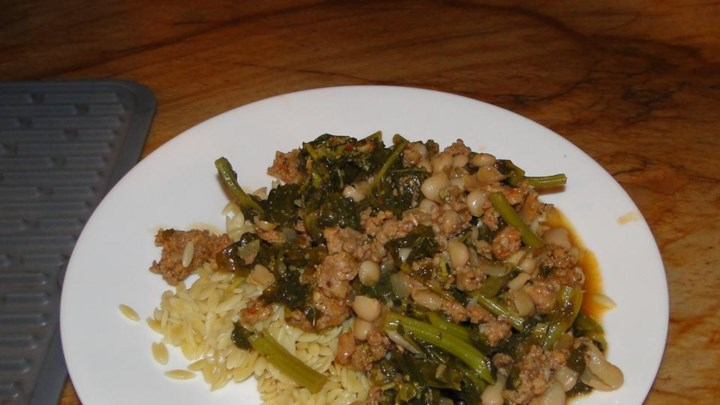 Hearty Sausage and Broccoli Rabe Casserole
