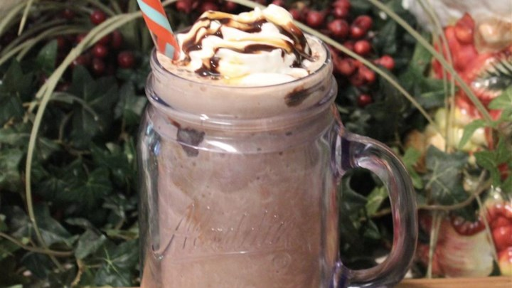 Chocolate Banana Latte Shake