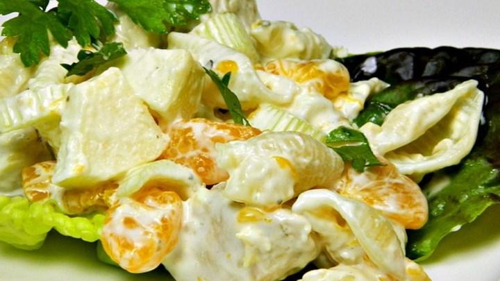 Chicken Seashell Salad