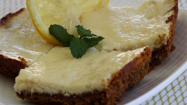 Ginger Lemon Cheesecake Bars Recipe - Allrecipes.com