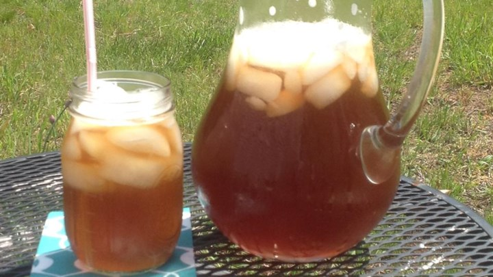 Cool Rhubarb Iced Tea Recipe - Allrecipes.com