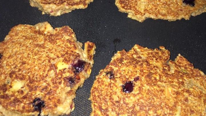 Saturday Morning Blueberry Pancakes