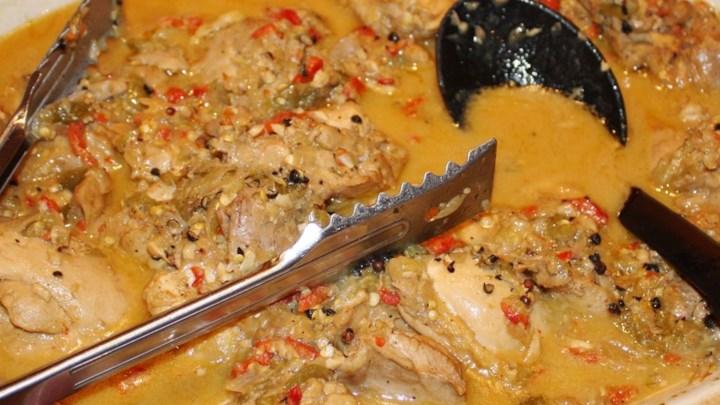 Guinataan Chicken Adobo