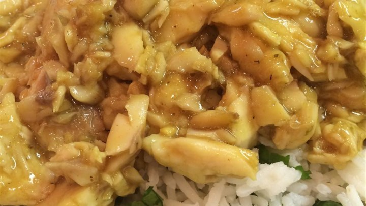 Basa swai fish in coconut sauce review by kimberly for Swai fish recipes food network
