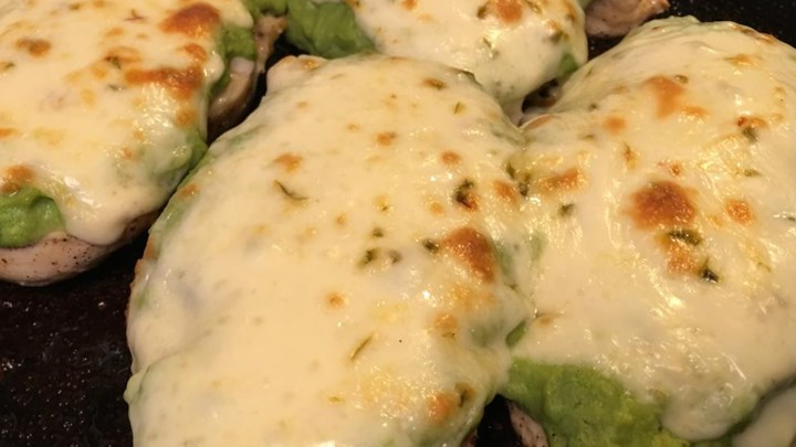 Guacamole Chicken Melt