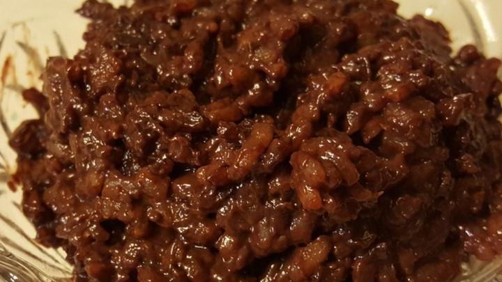 Azteca Cocoa Rice Pudding