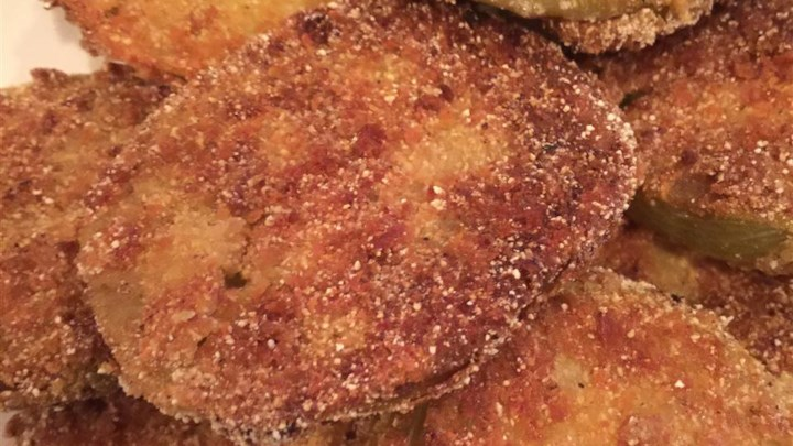 Chef John's Fried Green Tomatoes