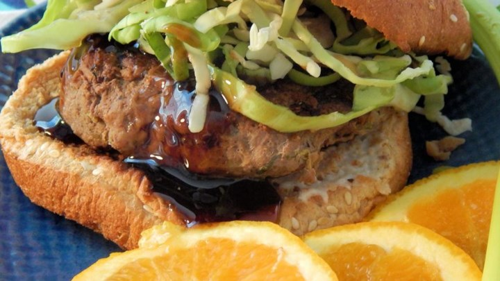 Aromatic Asian Burgers (Abalos Style)