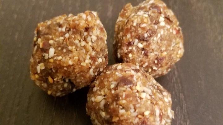 Vegan Almond Butter Balls