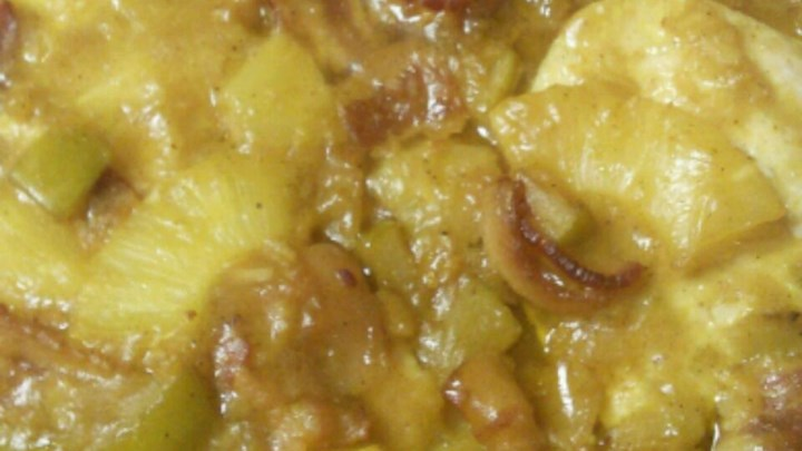 Pineapple and Chicken Curry