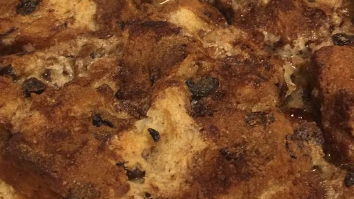 Raisin Bread French Toast Casserole