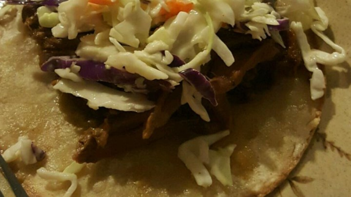 Simple Slow-Cooked Korean Beef Soft Tacos