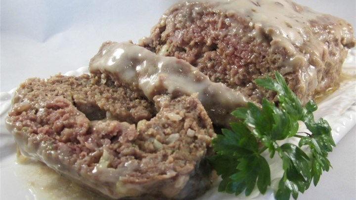 Mushroom in the Middle Meatloaf