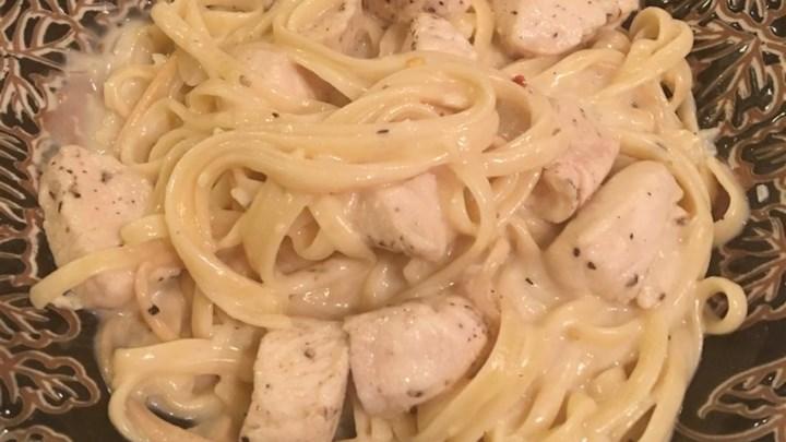 Fettuccini Alfredo I