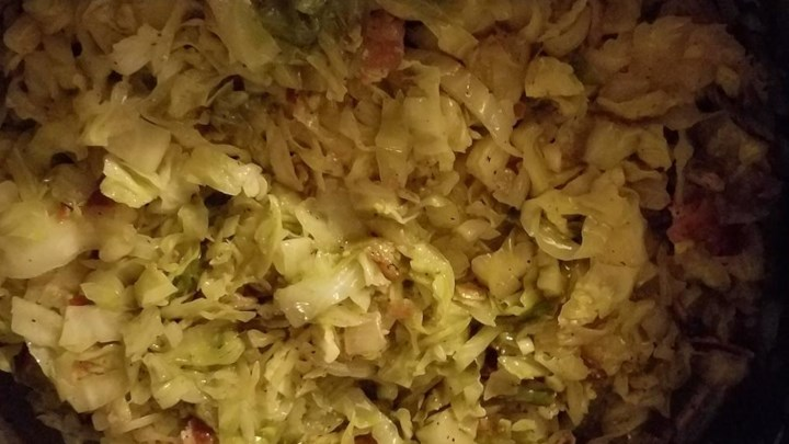 Bonnie's Fried Cabbage