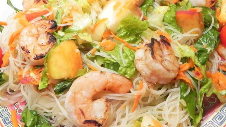 Grilled Shrimp and Rice Noodle Salad