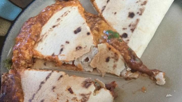 Cheese Quesadilla Lunch