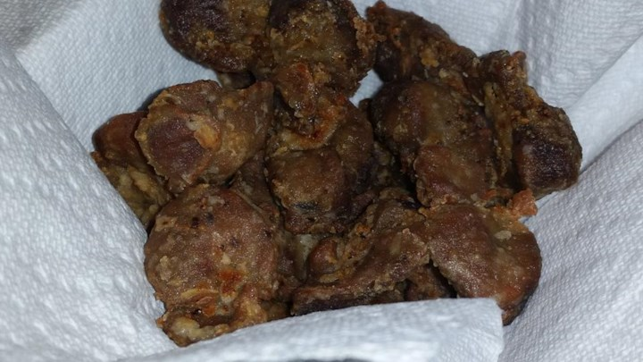 Southern Fried Chicken Gizzards